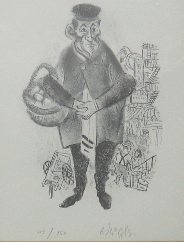 1007: 1 vol. Freundlich, August L. William Gropper: Ret