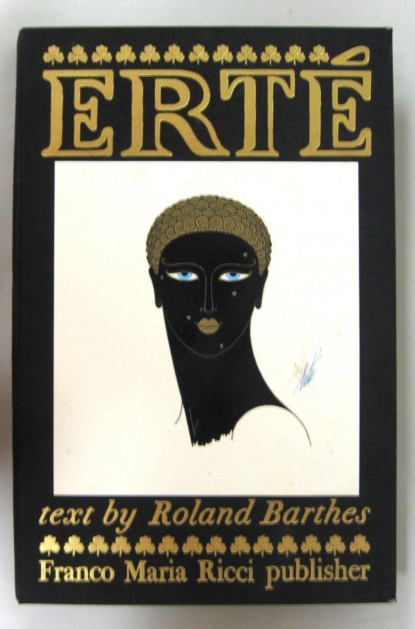1010: 1 vol. Barthes, Roland.Erte. Parma: F.M. Ricci, 1
