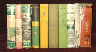 10 vols. American Description & Travel - WPA Stat