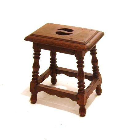 2004: French oak joint stool, 18th / 19th century, The