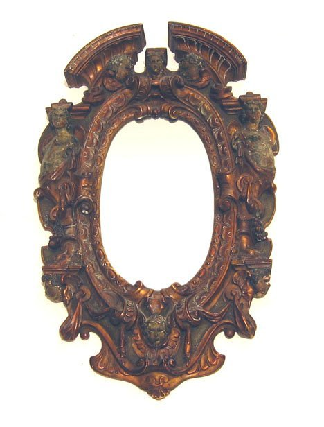 2023: Renaissance Revival bronze mirror, 19th century,