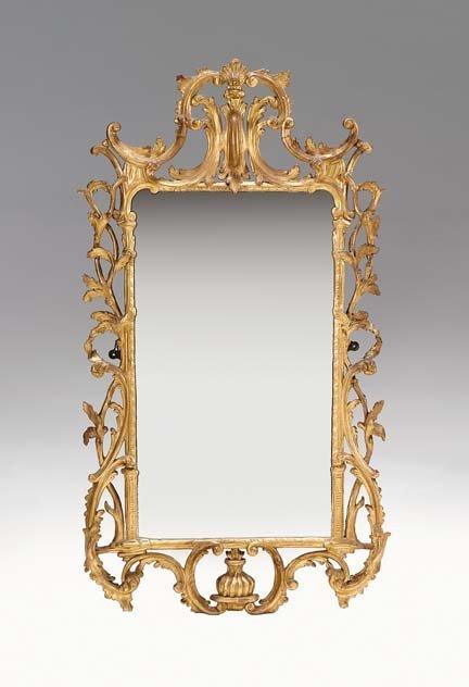 2118: George III giltwood mirror, circa 1770, In the Ch