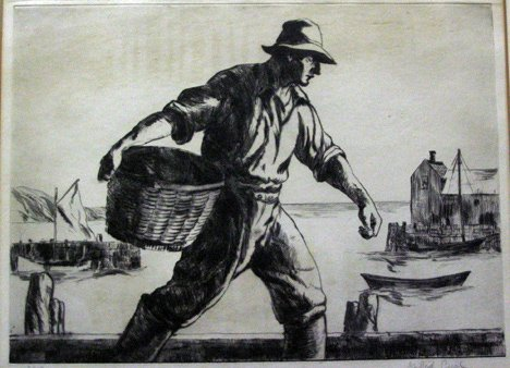 2: GIFFORD BEAL, (AMERICAN 1879-1956) TWO DRYPOINTS, FI