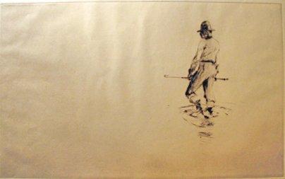 4: FRANK WESTON BENSON, (AMERICAN 1862-1951), THE GUIDE