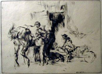 6: EDMUND BLAMPIED, (BRITISH 1886-1966), RESTING