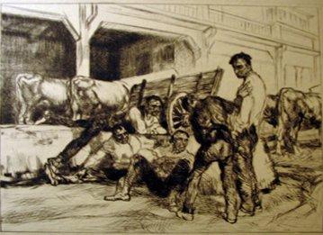 10: EDMUND BLAMPIED, (BRITISH 1886-1966), SAN SEBASTIAN