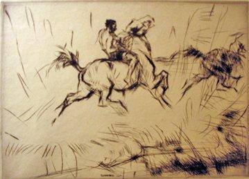 11: EDMUND BLAMPIED, (BRITISH 1886-1966), SPLASHING THR
