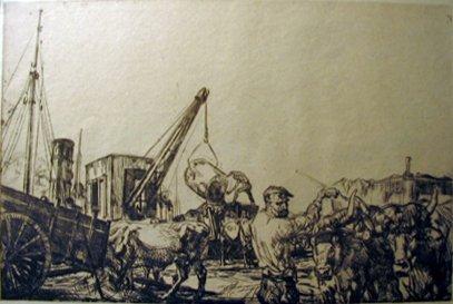 13: EDMUND BLAMPIED, (BRITISH 1886-1966), SAN SEBASTIAN