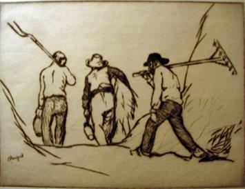 16: EDMUND BLAMPIED, (BRITISH 1886-1966), END OF THE DA
