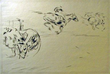 17: EDMUND BLAMPIED, (BRITISH 1886-1966), THE TUMBLE