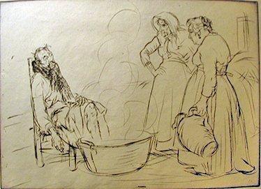 20: EDMUND BLAMPIED, (BRITISH 1886-1966), SICK MAN
