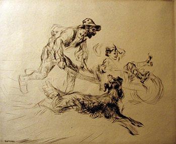 23: EDMUND BLAMPIED, (BRITISH 1886-1966), JOY RIDE