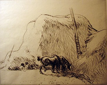 24: EDMUND BLAMPIED, (BRITISH 1886-1966), NOONDAY REST