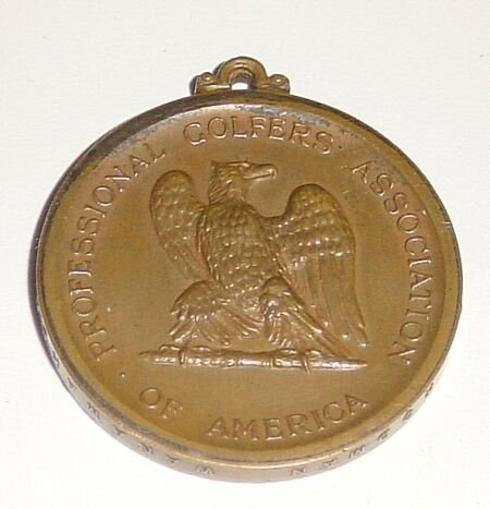 1004: A Pro Golfers Association of America bronze medal