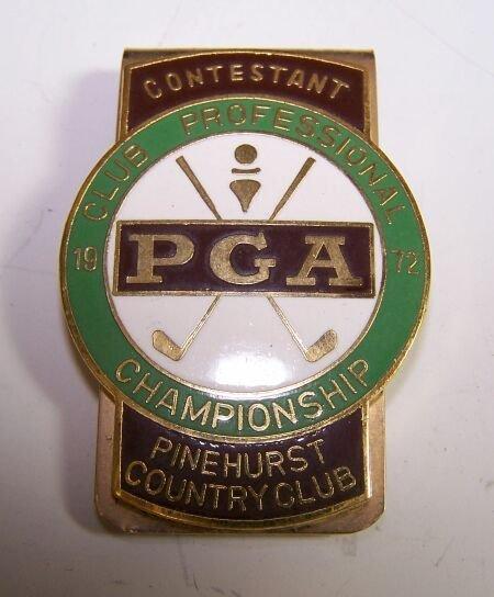 1011: A  P. G. A. Championship Contestant money clip