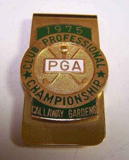 1012: A P. G. A. Championship Contestant money clip