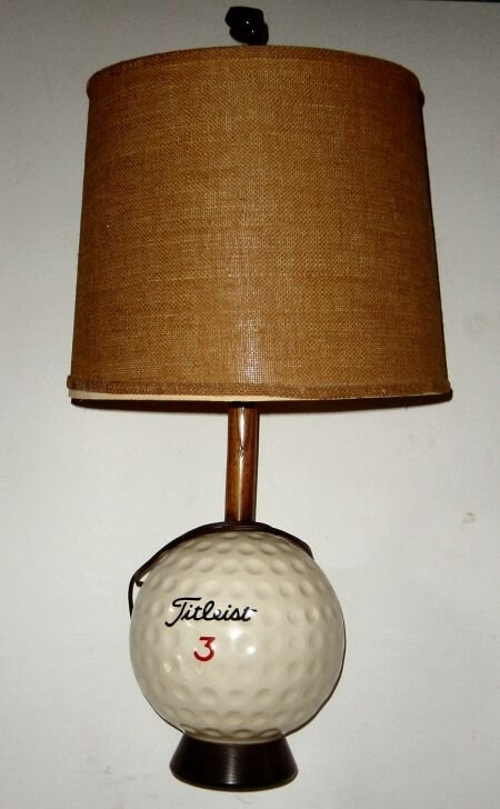 A titleist golf ball promotional table lamp 1444 a titleist golf ball promotional table lamp aloadofball Choice Image