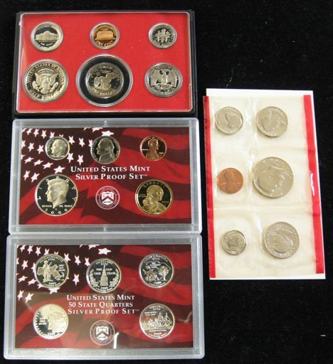 2010: 19 Proof Sets and 8 Mint Sets, , Including proof