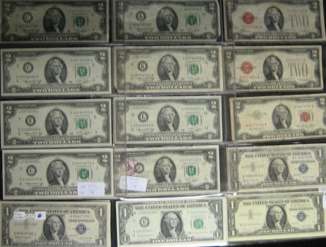 2017: Assorted Currency Lot   Including 12 series 1963