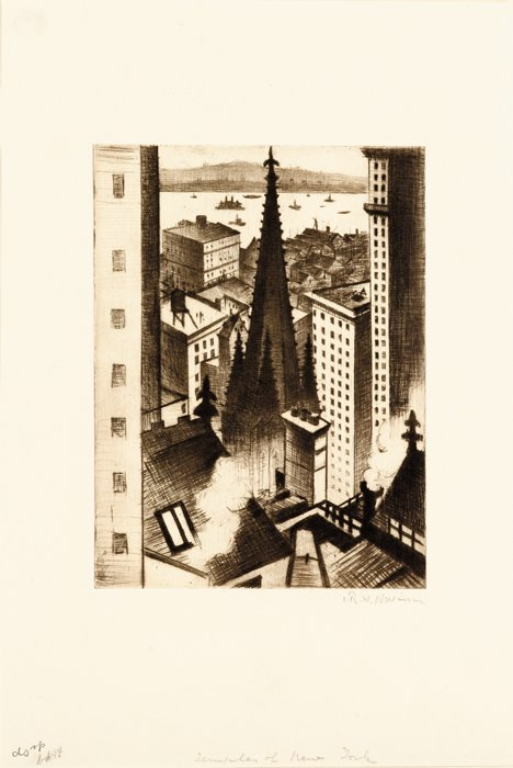 3001: CHRISTOPHER RICHARD WYNNE NEVINSON, A.R.A., (BRIT