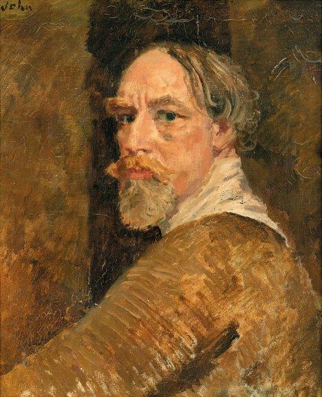3007: SIR AUGUSTUS JOHN O.M. R.A., (BRITISH 1878-1961),