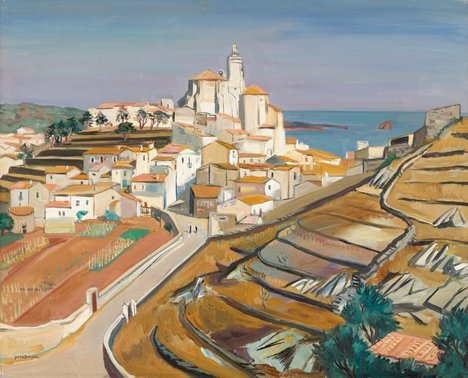 3017: YVES BRAYER, (FRENCH 1907-1990), PAYSAGE DE CADAQ
