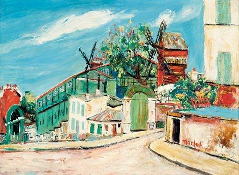 3018: ELISEE MACLET, (FRENCH 1881-1962), MOULIN DE LA G