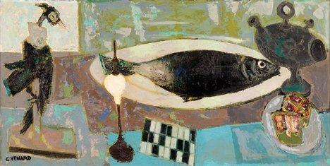 3019: CLAUDE VENARD, (FRENCH 1913-1999), NATURE MORTE A