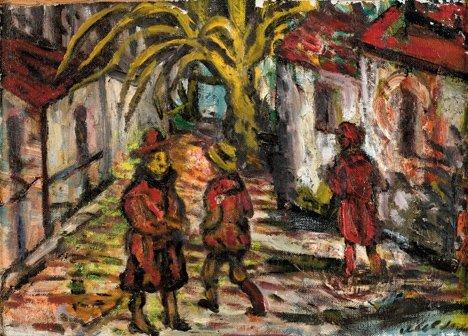 3020: SACHA MOLDOVAN, (RUSSIAN / AMERICAN 1901-1982), F