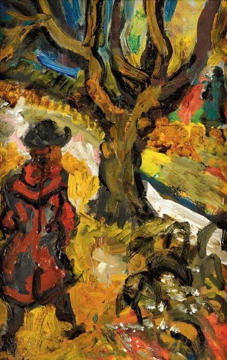 3023: SACHA MOLDOVAN, (RUSSIAN / AMERICAN 1901-1982), W