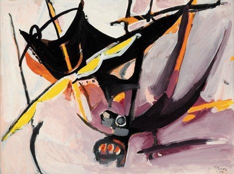 3024: EDOUARD PIGNON, (FRENCH 1905-1993), UNTITLED
