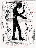 3177: JONATHAN BOROFSKY, (AMERICAN B. 1942), WORKERS ON