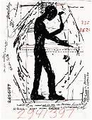 3178: JONATHAN BOROFSKY, (AMERICAN B. 1942), WORKERS ON