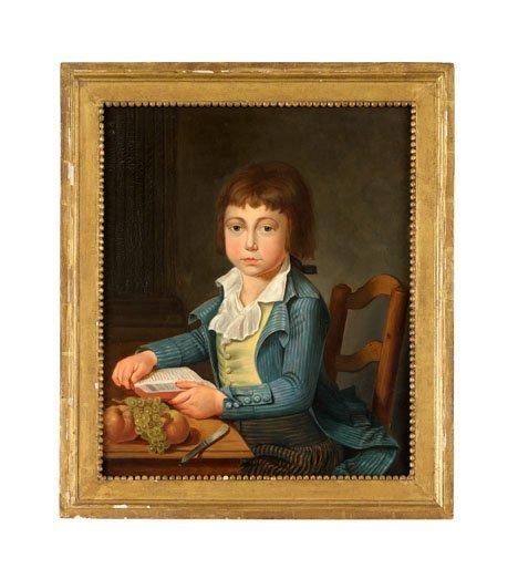 15: American/ Continental School 19th century, portrait