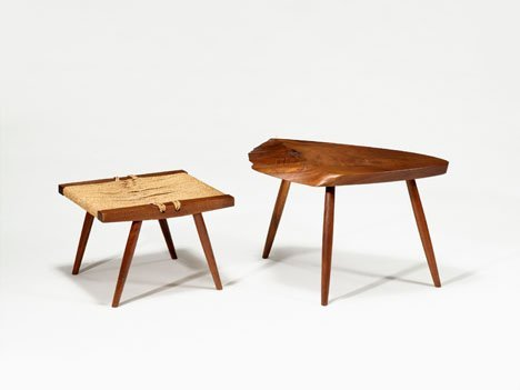 1002: Side table by George Nakashima, American 1905-199