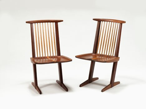 1003: Chairs by George Nakashima., American 1905-1990,