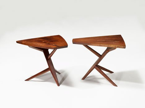 1004: End table by George Nakashima, American 1905-1990