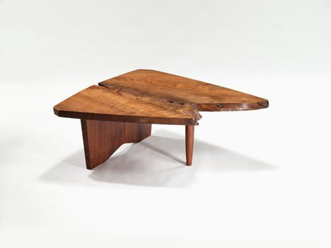 1010: Coffee table by George Nakashima, American 1905-1