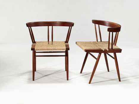 1012: Chairs by George Nakashima, American 1905-1990, P