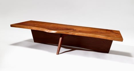 1015: Coffee table by George Nakashima, American 1905-1