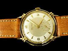 2151 Gentlemans Longines yellow gold wristwatch 1940