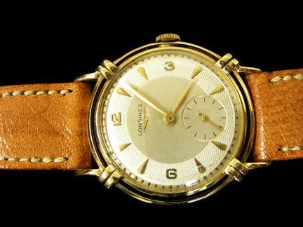 2151: Gentleman's Longines yellow gold wristwatch, 1940