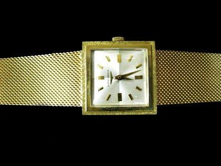 2225: Gentleman's 14 karat yellow gold Longines wristwa