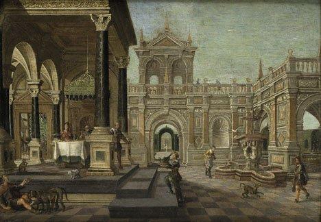 6: NICOLAS DE GYSELAER, (DUTCH 1590-1654), FEAST IN THE