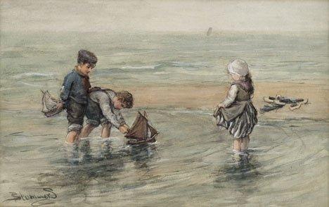 17: BERNARDUS JOHANNES BLOMMERS, (DUTCH 1845-1914), THE