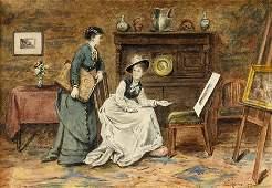 31: GEORGE G. KILBURNE, R.A., (BRITISH 1862-1893), CHOO