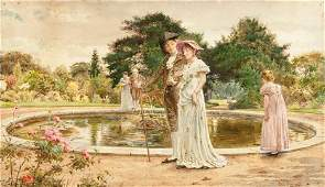 33: GEORGE G. KILBURNE, R.A., (BRITISH 1862-1893), THE
