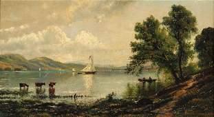 96: EDMUND DARCH LEWIS, (AMERICAN 1835-1910), SAILING B