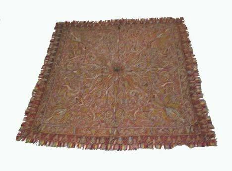 2753: Kashmir shawl, india, circa late 19th century, 5