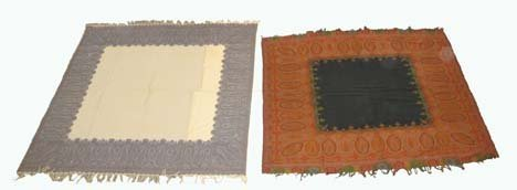 2754: Two Kashmir shawls, india, 20th century, one: 5 f